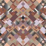Abstrac nahtloses Muster Lizenzfreie Stockfotografie