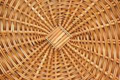 Abstrac Natural Wicker Background Or Texture Royalty Free Stock Image