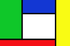 Abstrac rectangles. Abstract design of colored rectangles for background use Stock Images