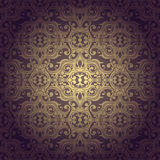 Abstrac seamless flowers baroque background. Abstract seamless background baroque vector Royalty Free Stock Image