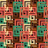 Abstrac vektorbakgrund med rektangulära former Royaltyfri Bild