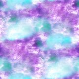Abstrac verde, púrpura colorido del color de la pintura de la textura del agua del modelo Fotos de archivo libres de regalías