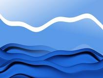 Abstrac Wellen vektor abbildung