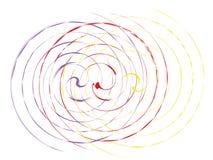 Abstracción artística espiral libre illustration