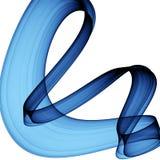 Abstracción azul Foto de archivo libre de regalías