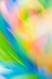 Abstracción colorida fresca Fotografía de archivo libre de regalías