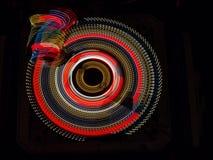 Abstracción creada por el LED Foto de archivo