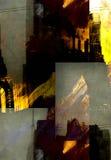 Abstracción de la ciudad de NYC Imágenes de archivo libres de regalías