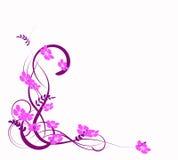 Abstracción de la lila Foto de archivo libre de regalías