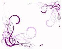 Abstracción de la lila Imágenes de archivo libres de regalías