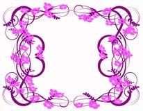 Abstracción de la lila Foto de archivo