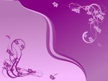 Abstracción de la lila Imagen de archivo libre de regalías