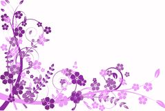 Abstracción de la lila, modelo Fotografía de archivo