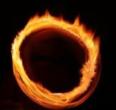 Abstracción de la luz de la llama de la estrella Imagenes de archivo