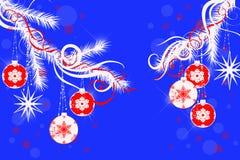Abstracción de la Navidad ilustración del vector
