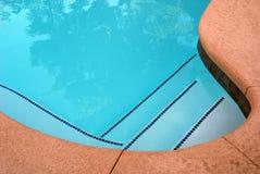 Abstracción de la piscina Fotografía de archivo libre de regalías