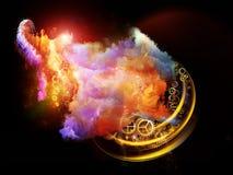 Abstracción de las nebulosas del diseño Imagen de archivo libre de regalías
