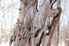 Abstracción de los girasoles Foto de archivo libre de regalías