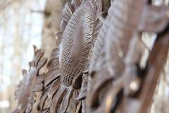 Abstracción de los girasoles Fotografía de archivo