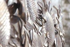 Abstracción de los girasoles Fotografía de archivo libre de regalías
