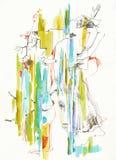 Abstracción de Surrealistic´s, no.4 stock de ilustración