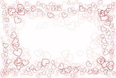 Abstracción del amor del corazón Fotos de archivo