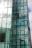 Abstracción del edificio de oficinas Imágenes de archivo libres de regalías