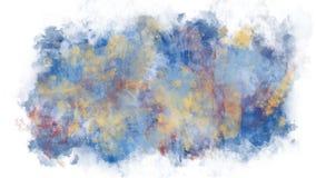 Abstracción del fondo de las pinturas ilustración del vector