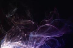 Abstracción del humo fotografía de archivo libre de regalías