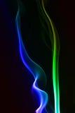 Abstracción del humo stock de ilustración