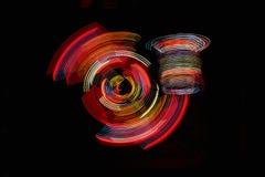 Abstracción del LED Foto de archivo
