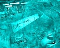 Abstracción del ordenador Fotografía de archivo libre de regalías