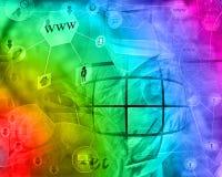 Abstracción del ordenador Imágenes de archivo libres de regalías