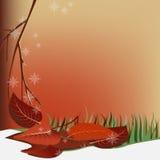 Abstracción del otoño libre illustration