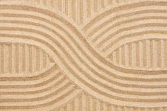 Abstracción en la arena Imagen de archivo libre de regalías