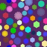 Abstracción en púrpura Imagen de archivo