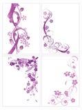 Abstracción floral Imagen de archivo libre de regalías