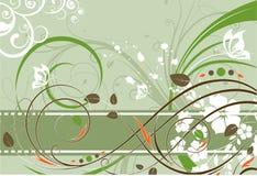 Abstracción floral. Imagen de archivo