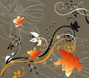 Abstracción floral