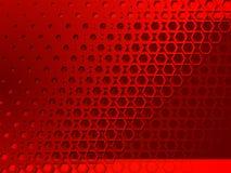 Abstracción geométrica roja del fondo Imagen de archivo libre de regalías