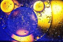 Abstracción hermosa del fondo del espacio Fotos de archivo