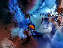 Abstracción I del fractal Fotografía de archivo