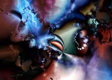 Abstracción III del fractal Foto de archivo libre de regalías