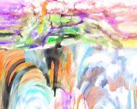 Abstracción Interior gráfico Pintura Extracto Arte cuadro Diseño foto de archivo