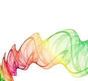 Abstracción multicolora stock de ilustración