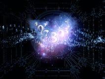 Abstracción numérica Foto de archivo libre de regalías