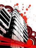 Abstracción urbana de Grunge libre illustration