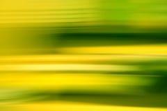 Abstracción verde y amarilla Foto de archivo libre de regalías