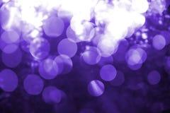 Abstracción violeta de correcciones de la luz Foto de archivo