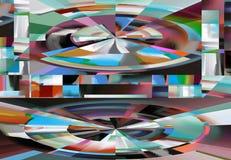 Abstracción y diseño atractivos Artes gráficos y arte ilustración del vector